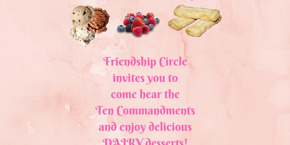 Friendship Circle Shavuot Party!