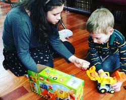 Yehuda + Sarah + Legos =😊#Friendship #fun #good #times #nothing #like #hanging #out #with #someone