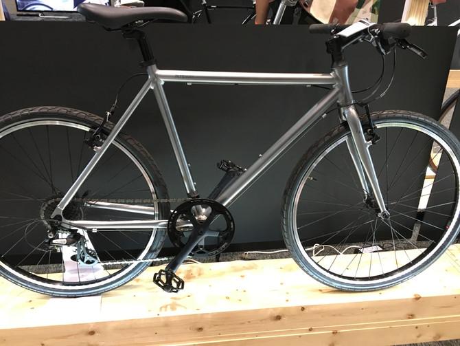 新型の自転車