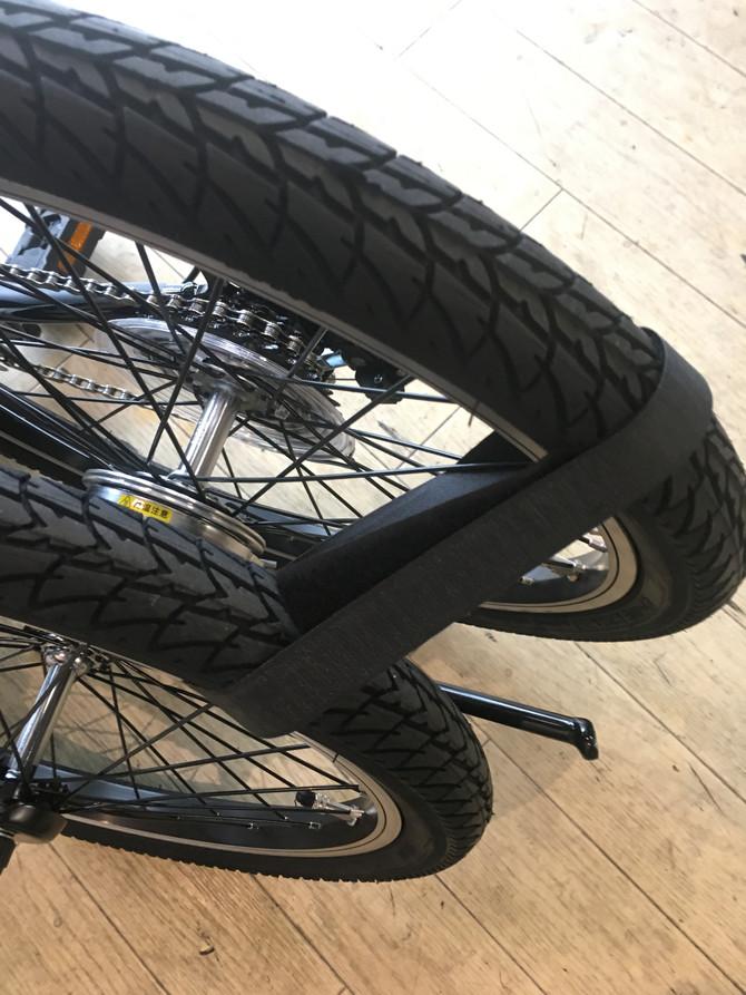 折りたたんで運べる電動自転車