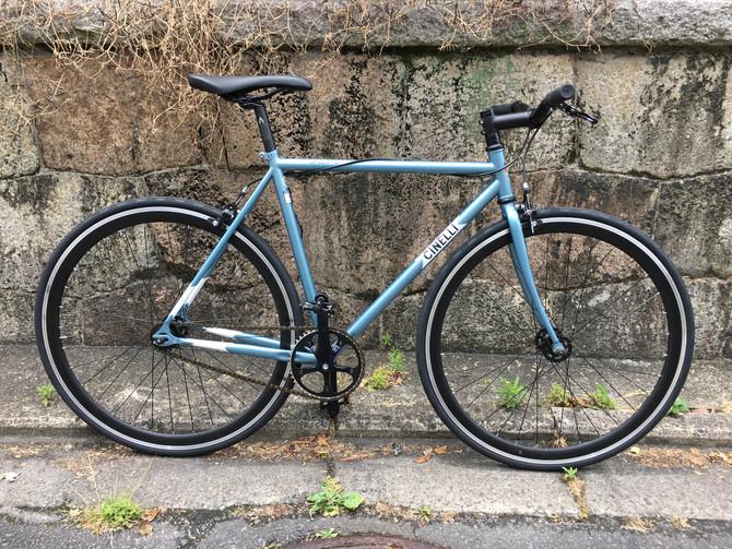 遊ぶ用の自転車買いました