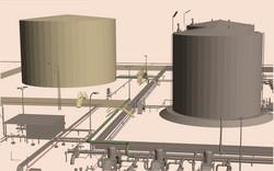 AIR BP Fuel Tanks Drawing