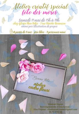 Atelier créatif : fête des mères 11 MAI