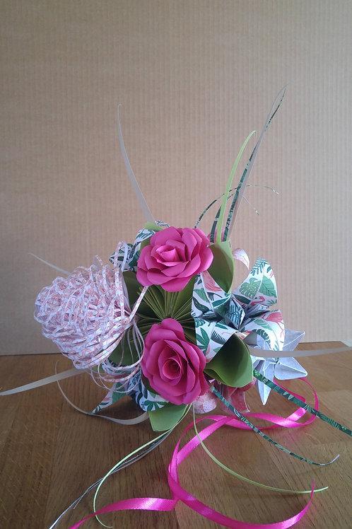 Bouquet intemporel Jungle
