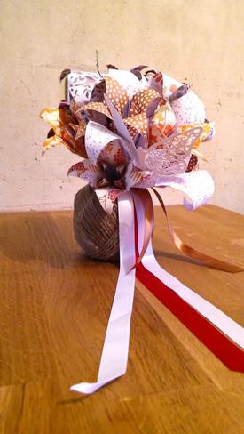 Atelier DIY bouquet de fleurs origami