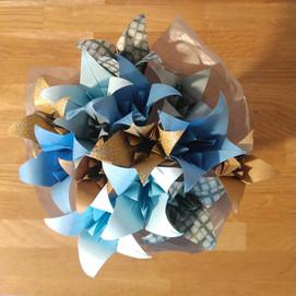 bouquet origami