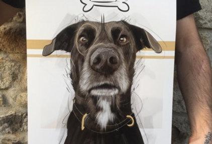 Commande d'un portrait d'Animal