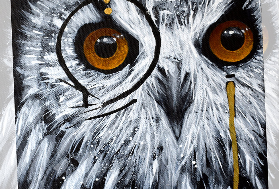 PRINT SHERLOCK OWL