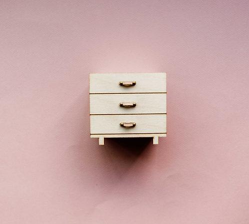 Dresser w/ Leather Pulls