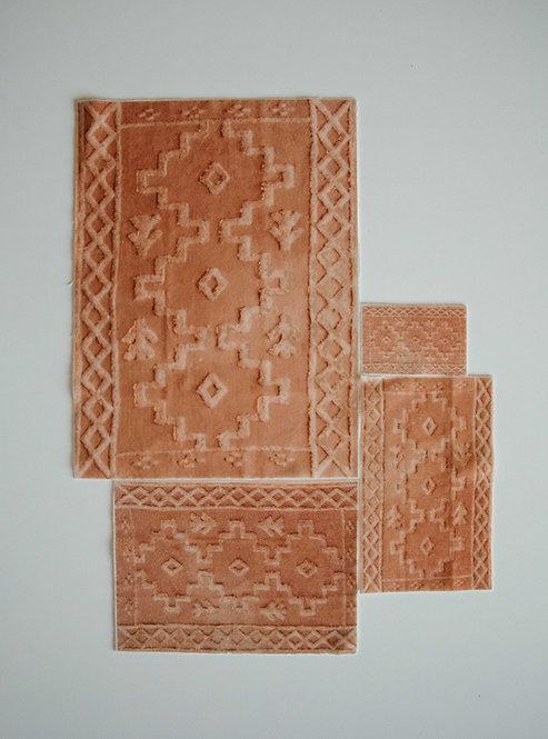 Aztec Rug in Rust