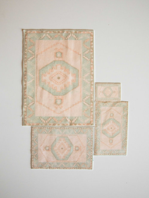 Tribal Rug in Mint