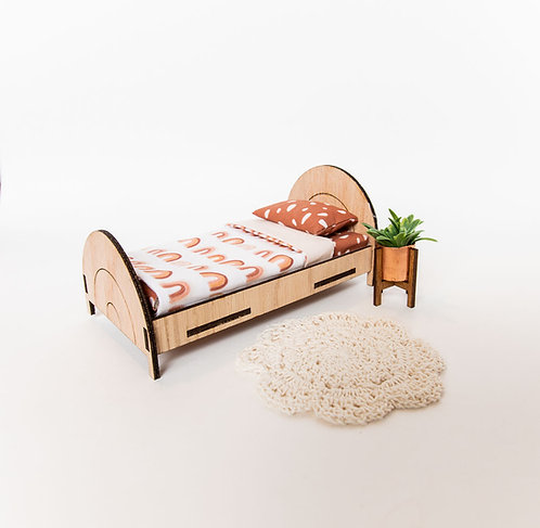 Rainbow bed with Mattress