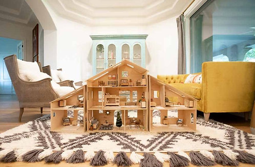 The Tiny Timber Dollhouse Collection