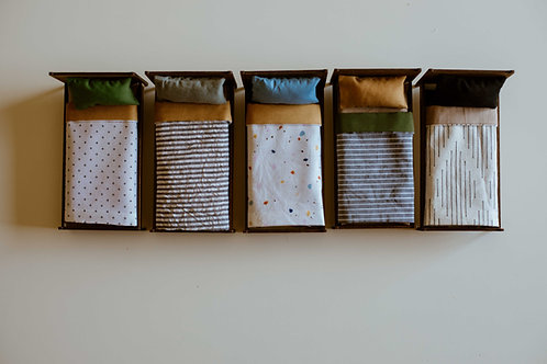 Boy's Collection: Linens and Mattress for Twin Bed