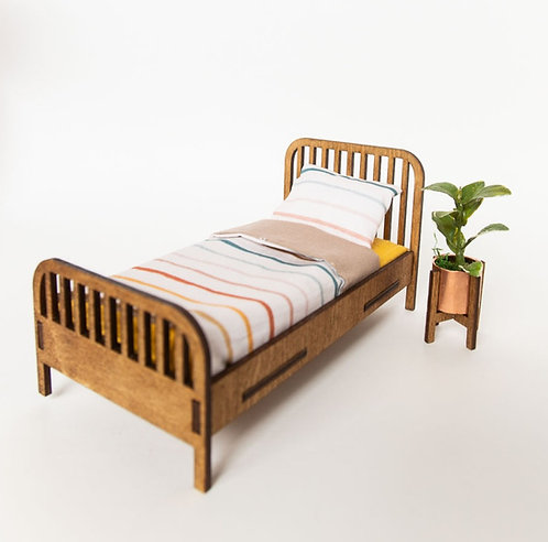 Rail bed with Mattress