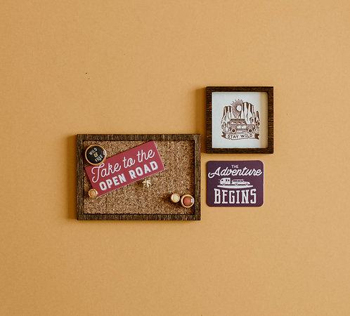 Cork Board/ Wall Decor Package