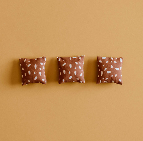 Boho Dots Throw Pillow