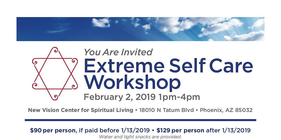 Extreme Self Care Work Shop