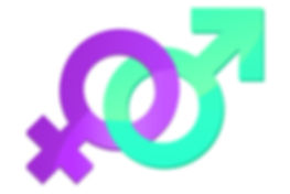Combined Infertility icon, male and female infertility