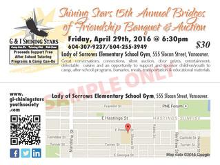 Shining Stars 15th Annual Bridges of Friendship Banquet & Auction