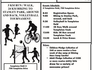 Health & Fitness Fundraiser -June 22nd