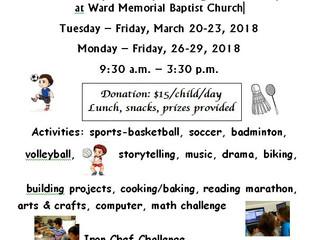 2018 KIDS FEST Spring Break