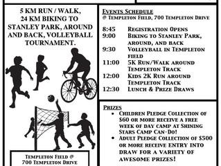 Health & Fitness Fundraiser, June 18th