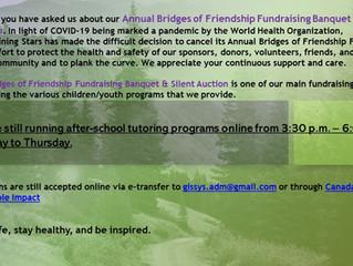 Bridges of Friendship Banquet & Silent Auction, April 24th -cancelled
