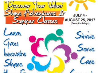 Summer Camp July - August