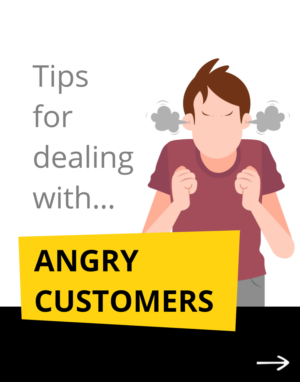 Tips for dealth with abgry customers