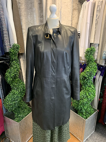 Betty Barclay Leather Coat