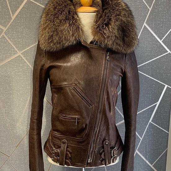D&G Leather Jacket