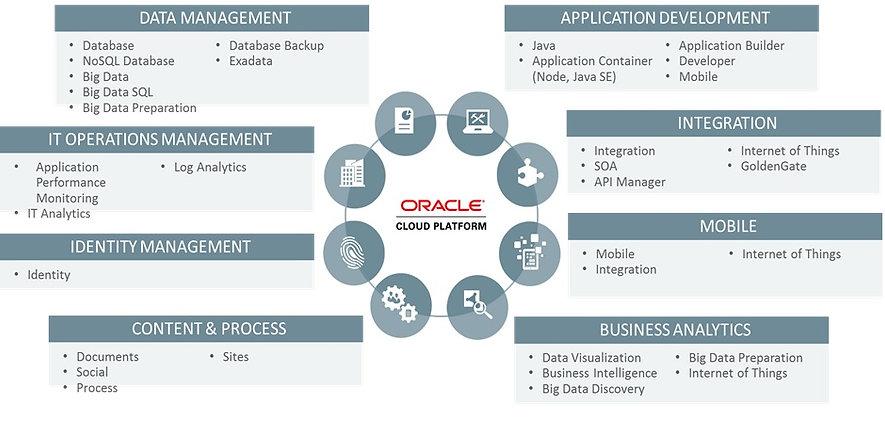 Oracle Cloud PaaS