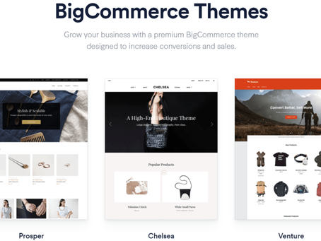 How to go about selecting a Bigcommerce Theme