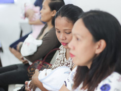 Newlife patient baby check