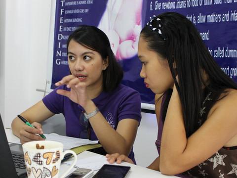 Newlife midwife staff