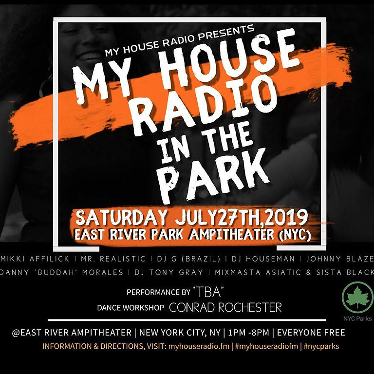 My House Radio In The Park