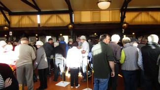 Registration inside Main Hall