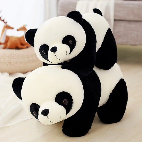 Мягкая Панда большая и малая