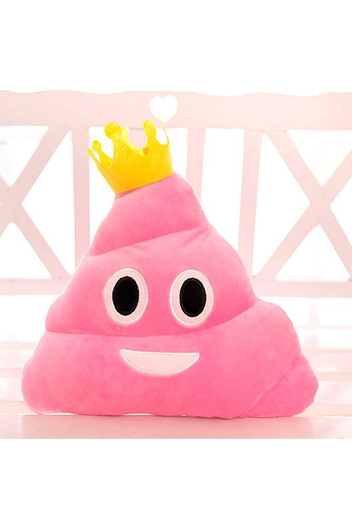 Подушка Розовый какашный Король