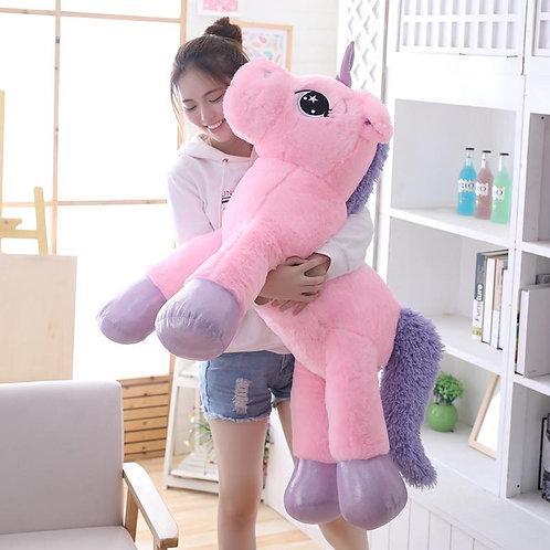 Мягкий большой розовый Единорог