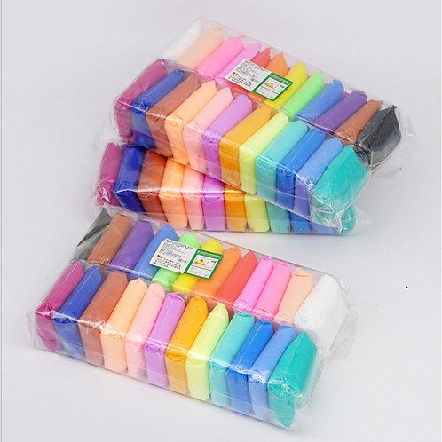 Воздушный пластелин 24 цвета