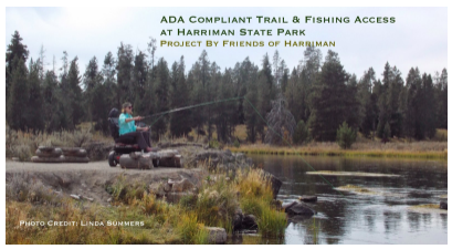 ADA Compliant Trail & Fishing Access