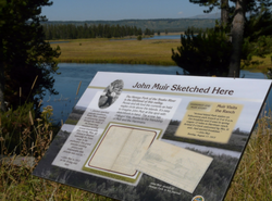 New trail signage and maps.