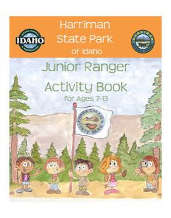 Jr. Ranger Program badges and books.