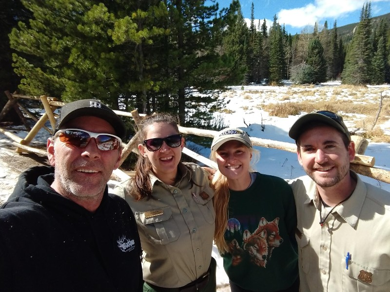 Working with the Forest Service