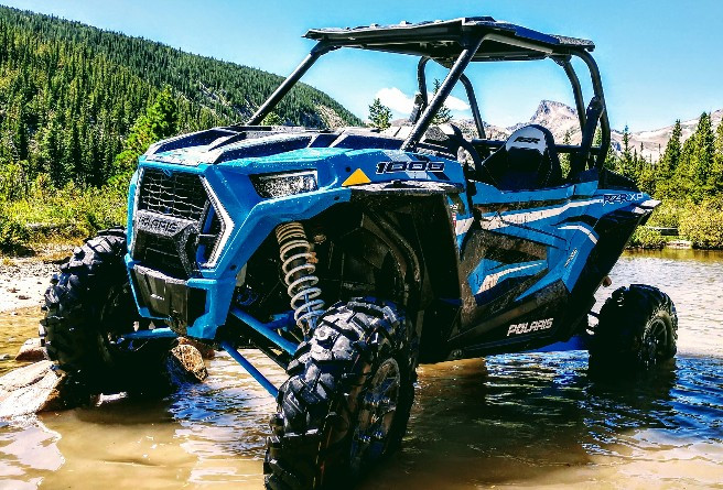These are our new atv rentals for 2020. The ride command units have special features, plus a touch screen trail navigation and blue tooth stereo
