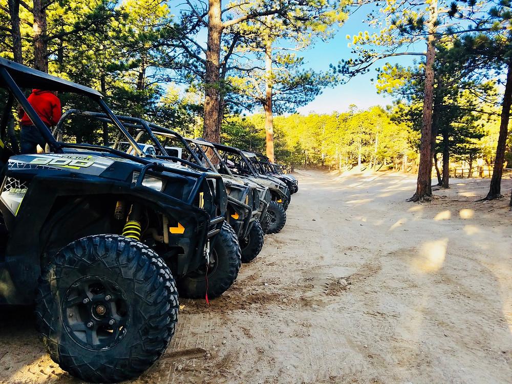 ATV and UTV razor rental in Estes Park, Colorado
