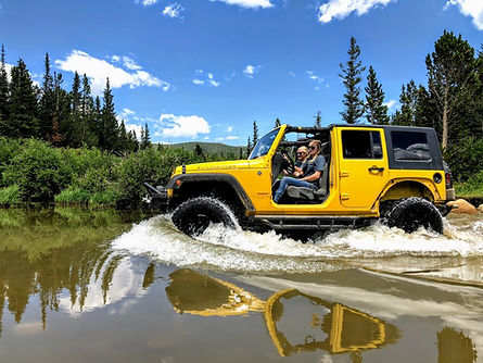 Jeep rental in Estes Park Colorado