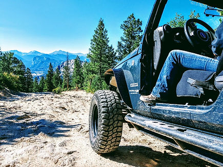 Jeep rental in Estes Park Colorado